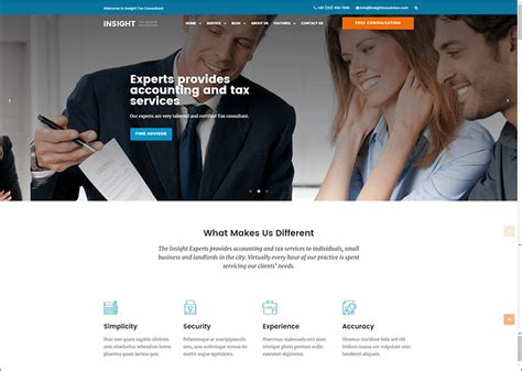 business consulting website templates 25 business website templates free premium themes