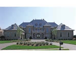 Chateau Style Eplans Chateau House Plan Grand Manor 8126 Square