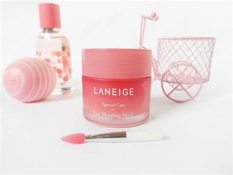 Laneige Lip Sleeping Mask 3gr laneige lip sleeping mask review glam express