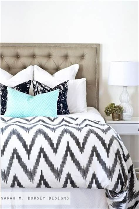 West Elm Chevron Duvet Phone Cover Bedding Bedroom Home Decor Home Decor