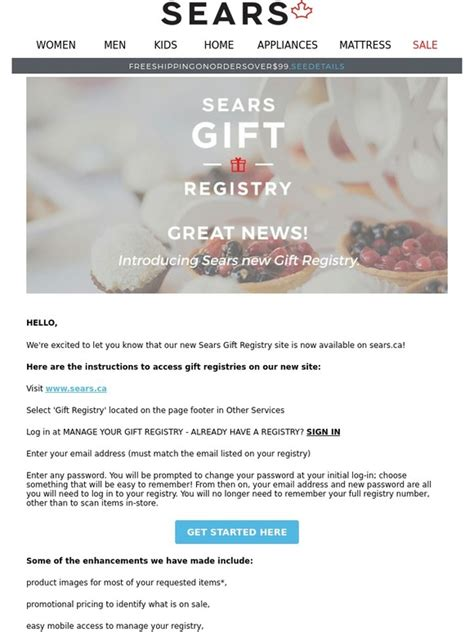 Wedding Registry Sears by Sears Wedding Registry Checklist Mini Bridal