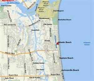 atlantic fl maps atlantic beachfl atlantic