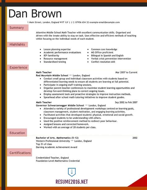 template cv wordpad exles of resumes job resume sle wordpad cv
