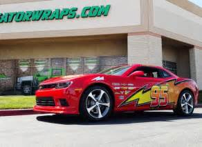 Lightning Mcqueen Car Wrap Decal Wraps Decals Gator Wraps