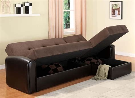 Small Sectional Sleeper Sofa Small Sleeper Sofa With Sectional Sofa With Storage And Sleeper