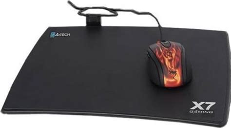 gaming a4 tech x7 801mp mousepad mice pad mat for mouse optical mouse black in kilbeggan