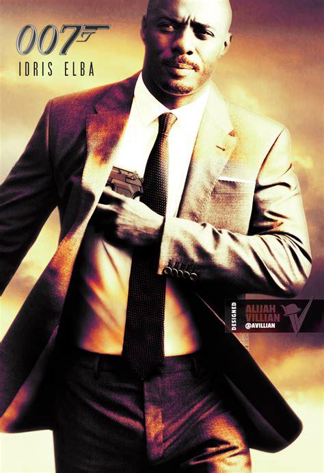 film james bond new digital artist re imagines black superheroes in movie