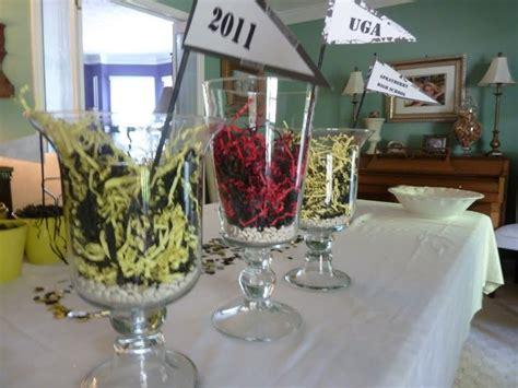 centerpieces for graduation from college graduation table centerpiece ideas