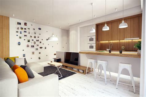 loft schlafzimmer privatsphäre ideen 2 apartments with design elements