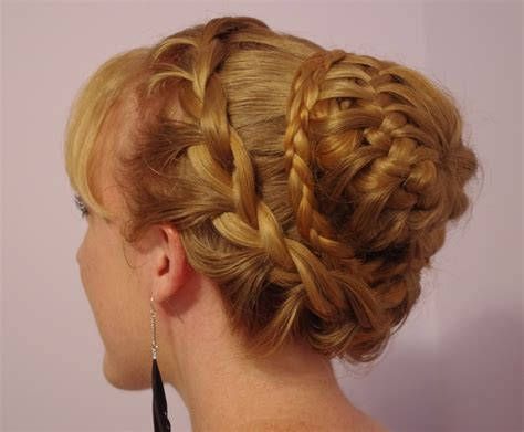 braided hairstyles luxy hair braids hairstyles for super long hair fancy braided bun