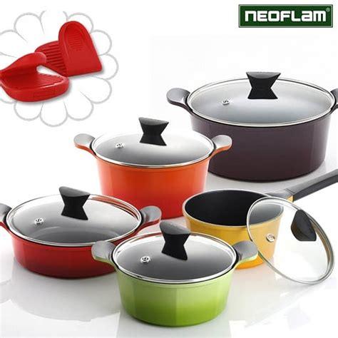 Teflon Neoflam venn 28cm orange wok with lid neoflam nonstick ecolon cookware