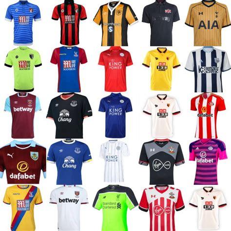 Mls League Table 2016 17 Premier League Jerseys For All 20 Teams World