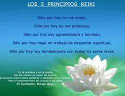 reiki yi los cinco principios de reiki