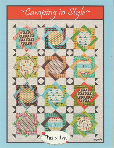 Backpacking Quilt Pattern by Cing In Style Quilt Pattern By This That