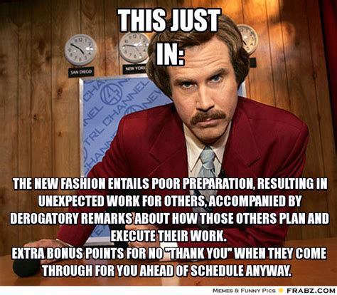 Ron Burgundy Memes - this just in ron burgundy meme generator captionator