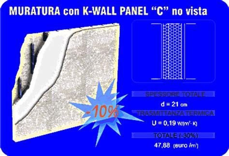 muratura a cassetta edilizia sostenibile e certificazione energetica con