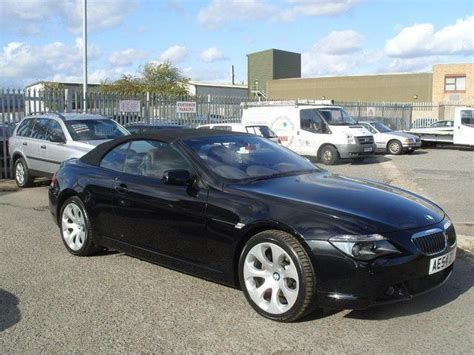 used bmw 6 series 2004 petrol 645ci 2dr auto convertible