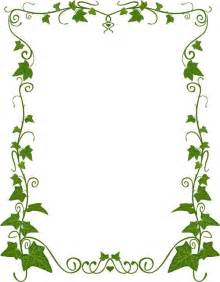 plant pattern korea style plant border pattern vector