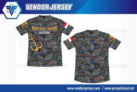 desain baju kaos angkatan pembuatan baju olahraga printing sekolah pelayaran