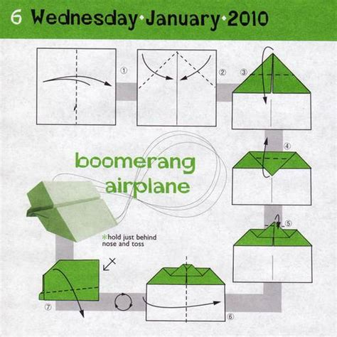 Origami Bumerang - the gallery for gt how to make a paper boomerang