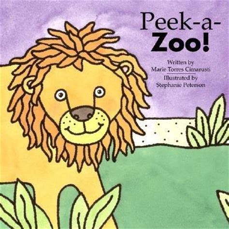 through with the zoo books peek a zoo