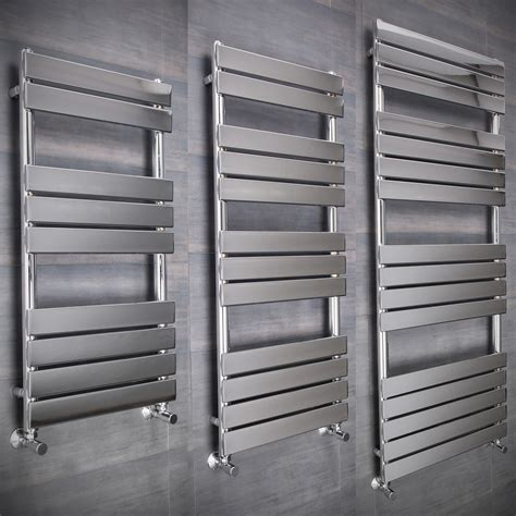 contemporary heated towel rails for bathrooms flat designer thermostatic electric heating heated