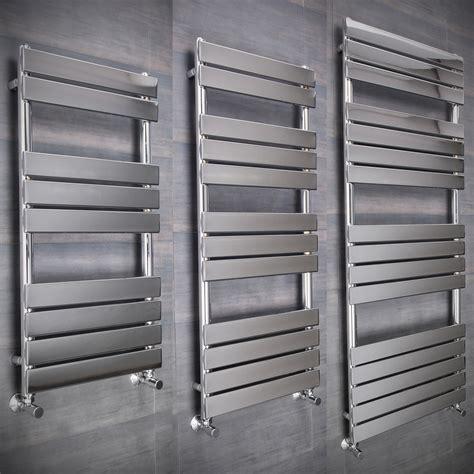 electric bathroom heated towel rails flat designer thermostatic electric heating heated