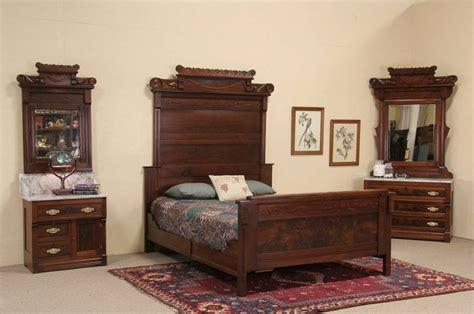eastlake bedroom set sold eastlake 1885 antique size bedroom set marble tops 3 pc harp gallery