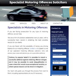 motoring solicitors gallery of exles of websites for firms