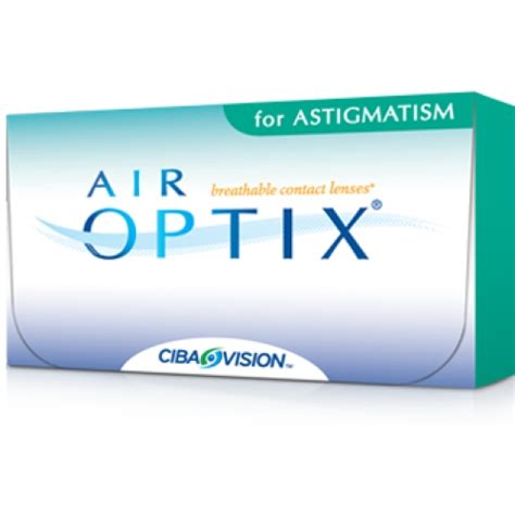 air optix  astigmatism  pack cheap contacts