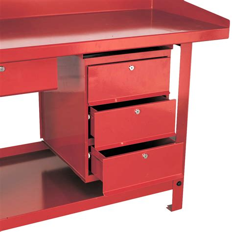 garage workbench with drawers uk sealey 3 storage drawer unit for ap10 and ap30