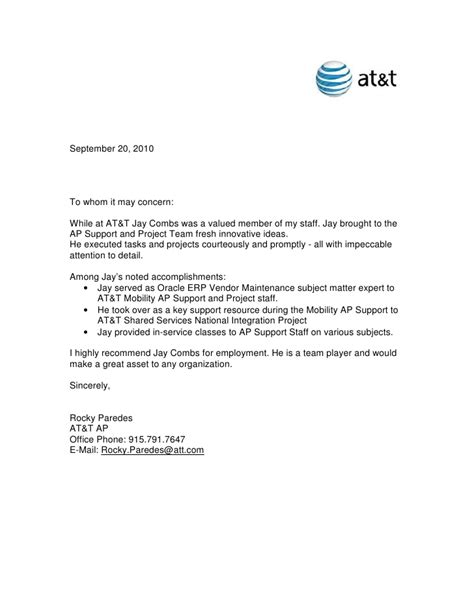 recommendation letter sle for vendor sle vendor credit