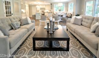 Sarah Richardson Kitchen Designs Contemporary Living Room With Carpet By Elite Staging And