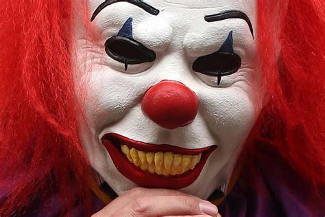 of a clown residents reporting clown sightings in hbts south santa