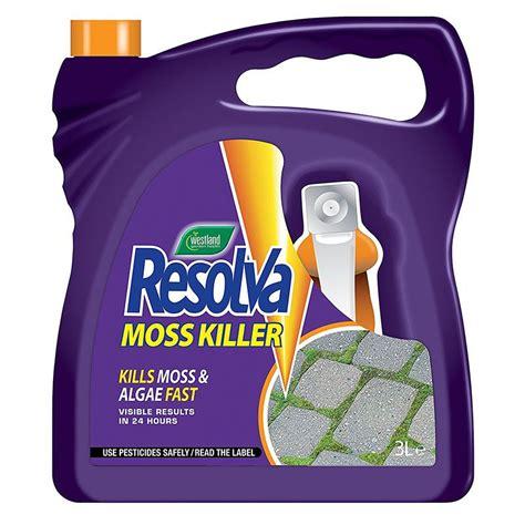resolva moss killer rtu 3l on sale fast delivery greenfingers com