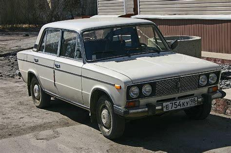 Russian Lada Car Russian Lada 2106 1300 Front