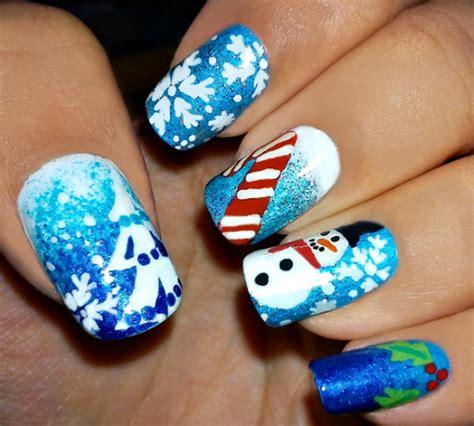 christmas themed nails 65 christmas nail art ideas nenuno creative