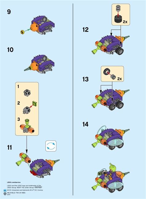 Lego 76069 Mighty Micros Batman Vs Killer Moth Heroes lego mighty micros batman vs killer moth