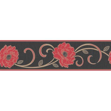 gold wallpaper borders uk buy fine decor florentina wallpaper border red black gold