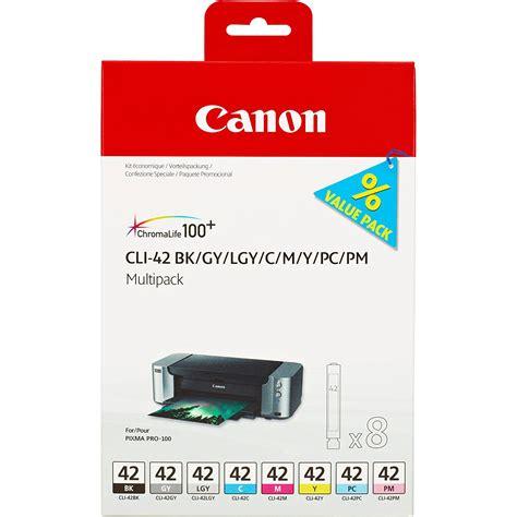 Canon Cartridge Cli 726 Black Ink Original Diskon original canon cli 42 c m y bk pc pm gy lgy