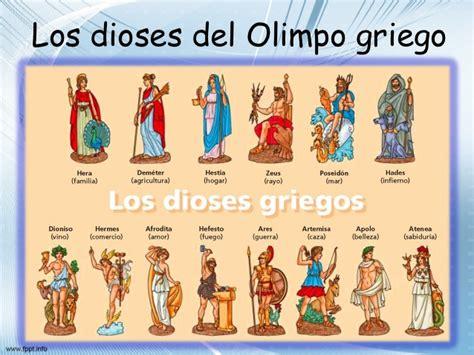 los dioses de cada 8472455149 la mitologia griega y los dioses del olimpo