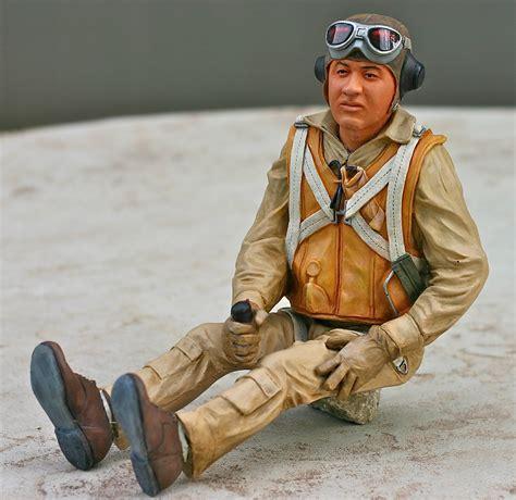 Figure Pilot pappy boyington pilot figure best pilots