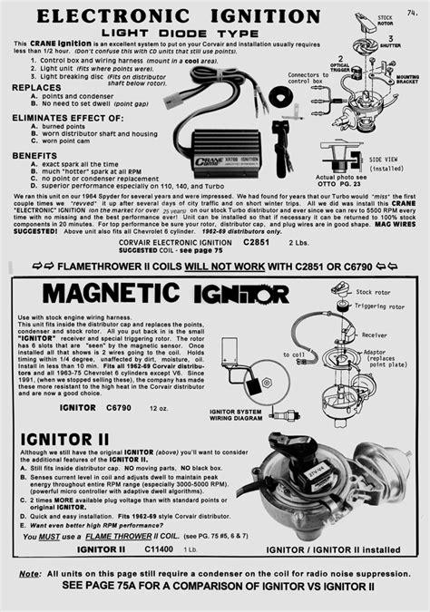 pertronix ignitor wiring diagram ignitor free