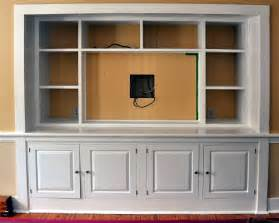 Turning a bedroom closet into a entertainment center with flatscreen