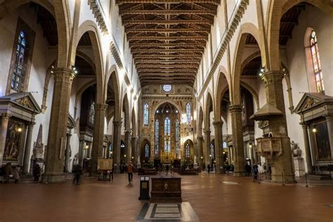 santa croce firenze interno the basilica of santa croce in florence my travel in tuscany