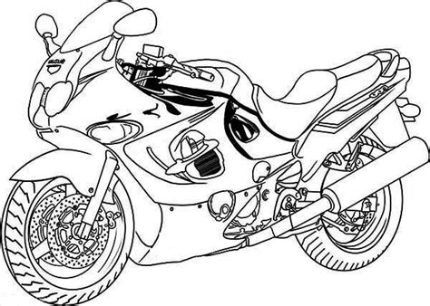 suzuki motorcycle coloring pages printable motorcycle coloring pages for preschoolers