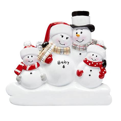 exoecting chrostmas ornament with family 2 we re expecting ornament 2 children callisters