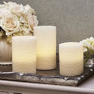 That Warm Weather Set Candles Out Later by Multi Color Textured Pillar Candles