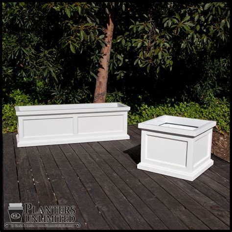 Square Outdoor Planters Large by Keswick Square Garden Planters Large Patio Planters For Outdoor Use