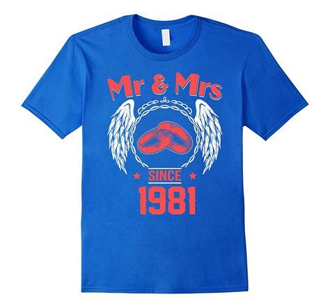 36th Wedding Anniversary Gifts T shirts for Husband for